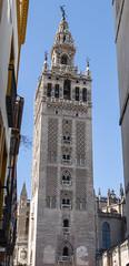 Seville Cathedral - Torre Da Giralda (DaveGray) Tags: canoneos70d seville sevilla churches chapels cathedrals santaigrejacatedraldesevilla torredagiralda tower minaret belltower