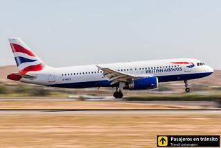 Airbus A320 British Airways G-MIDX