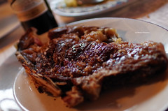 T-Bone Steak at Galarza III Restaurant (Iker Merodio | Photography) Tags: tbone steak txuletoi galarza iii meat food foodporn pentax k50 sigma 30mm art baraibar navarre nafarroa basque country gastronomy