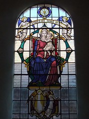 St Mary's Church, Eversley, Hampshire (Living in Dorset) Tags: stainedglasswindow churchwindow church window eversley hampshire england uk gb stmaryschurch