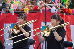 wind orchestra girl #13 (kasa51) Tags: schoolgirl windorchestra summerfestival portrait ブラバン少女 people street
