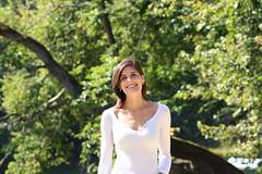 Shiny smile. (riccardolongo1) Tags: bruxelles brussels belgium belgique girl marine sun shiny day bois de la cambre wood nature natural september beautiful