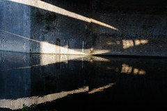 Reflection in the tunnel (suzannesullivan2) Tags: avril