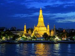 ABM (Another Blue Monday) / Wat Arun (Temple of Dawn), Bangkok, Thailand (Frans.Sellies) Tags: img5872 thailand bangkok