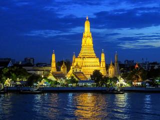 ABM (Another Blue Monday) / Wat Arun (Temple of Dawn), Bangkok, Thailand