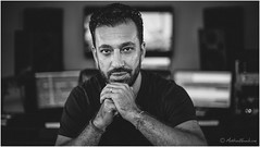 Samuel Safa - Composer (mattwiskas) Tags: samuel safa composer compositeur musique film documentaire studio noir et blanc black white