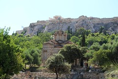 Church of the Holy Apostles (demeeschter) Tags: greece athens city town building archaeology street historical heritage temple shop church acropolis ruin museum stone ancient art agora stoa hephaistos
