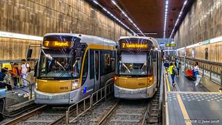 Brussels, Belgium: Georges-Henri tram station (Line 7)
