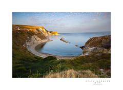 Man o War Bay, Dorset, England. (Steve Garbutt) Tags: 2018 bay bluehour dorset eveninglight greatbritain manowarbay summer sunset unitedkingdom manofwar
