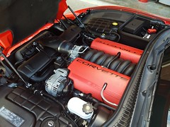 """2004 Z06 Torch Red w/ Mod Red Interior (Mark """"MacA"""" Anderson) Tags: c5 z06 torchred corvette 2004 modred ls6"""