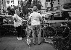 Mr. Trotinette (Jack_from_Paris) Tags: l1013670bw leica m type 240 10770 leicaelmaritm28mmf28asph 11606 dng mode lightroom capture nx2 rangefinder télémétrique bw noiretblanc noir et blanc monochrom wide angle street rue paris 75013 trotinette jeu 3