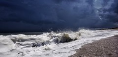 Kitty Hawk NC (greensboropenguin) Tags: waves tide greenboropenguin nc kittyhawk beach storm