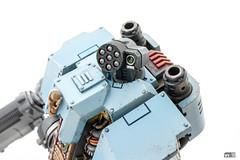 Redemptor: Small arms (Will Vale) Tags: 28mm 40k scifi spacewolves redemptordreadnought scalemodel primaris gamesworkshop wh40k spacemarines