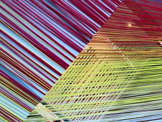 Fabric Art Installation (close up), Toronto, Ontario