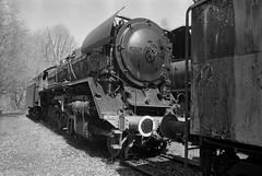 Dampflokmuseum Hermeskeil (Ronald_H) Tags: dampflokmuseum hermeskeil railway museum steam locomotive diafine kodak trix 400 engine nikon fm10 film bw black white 2018