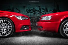 Audi S4 Avant Generations - Shot 1 (Dejan Marinkovic Photography) Tags: audi avant s4 b9 c4 red station german car automotive lightpainting