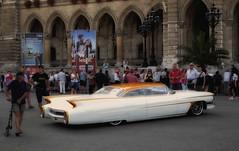 white beauty (try...error) Tags: caddy cadillac fins car classic days vienna custom