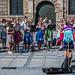 2018 - Germany - Munich - Marienplatz Musicians