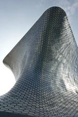 Soumaya (marktmcn) Tags: museo soumaya mexico city la ciudad de polanco mexican architect fernando romero contemporary architecture reflective tiles abstract shape dsc rx100 art gallery
