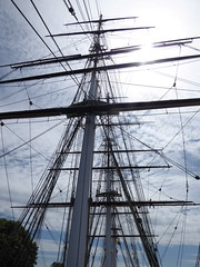 Masts and rigging (c_nilsen) Tags: cuttysark ship clippership london unitedkingdom england teaclipper
