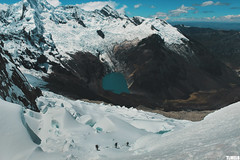 Alpamayo Mount - Peru (TLMELO) Tags: alpamayo peru climb mountaineer montanha walking mountain peak ice glacier