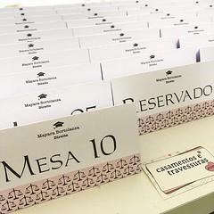 Reservas e numerações para organizar as mesas dos convidados! 📍escolha cores, estampas e textos 📍de SP para todo o Brasil 🎁encomende pelo site casamentosetravessuras.com #casamentosetravessuras #formaturadedireito #formand (casamentosetravessuras) Tags: instagram facebookpost lembrancinhas personalizadas
