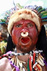 Portrait papou (michel David photography) Tags: goroka show papouasie nouvelleguinée