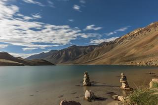 Chandratal Lake,  Spiti Valley, Himachal Pradesh