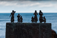 They Will Not Return! (captures.in.time) Tags: eyemouth stabbs scotland wonderlust borders visitscotland fishing coast shore sea seaside memorial bronze