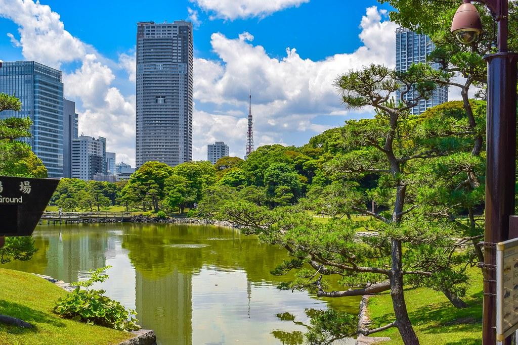 The World\'s Best Photos of gardens and hamarikyu - Flickr Hive Mind