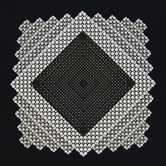 Ribbed Rhombic Dodecahedron (Mathnetism) Tags: neodymium zen magnets ribbed rhombic dodecahedron diagonal cube