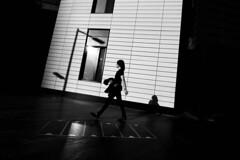 IMG_7744 (JetBlakInk) Tags: art magichour men minimalist mono streetscene subject2ground silhouette shadowyfigure