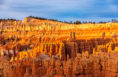 Sunrise - Bryce Canyon, 2018 (Dino Sokocevic) Tags: bryce brycecanyon utah utahphotographers natural nature nationalpark national sunrise desert hoodoo landscape landscapes southwest bluesky