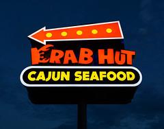 Crab Hut (davidwilliamreed) Tags: colorful vivid color bluehour twilight dusk afterdark nightshot availablelight crabhut cajunseafood duluthga gwinnettcounty