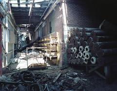 (.tom troutman.) Tags: mamiya 7 film analog 120 6x7 kodak portra 160 abandoned industrial 50mm mediumformat