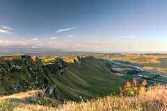 Te Mata Peak (Heather_K_Jones) Tags: bluesky hawkesbay scenery travel nature scenic tematapeak newzealand landscape horizontal touristattraction mountain