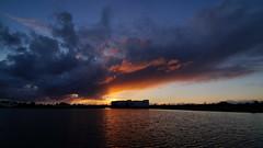 Colorful clouds (Steenjep) Tags: sø lake landskab landscape sky cloud himmel herning jylland jutland danmark denmark fuglsangsø solnedgang sunset sun refleks reflex water
