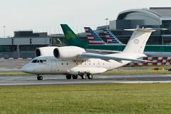 UR-74026 Antonov AN-74 at Dublin Airport Departing to Paris LeBourget 16-9-18 (3) (1 of 1) (Conor O'Flaherty) Tags: ur70426 antonov an74 charter horse cargo dublin dublinairport eidw dub frieght soviet