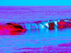 Cuando me cubra de agua, (Fruits Fluid) Tags: sea wave ocean color edited splash blue water photography