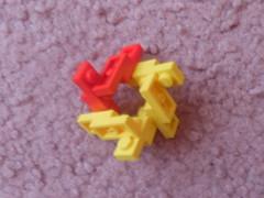 "Lego Building Technique: ""1x2 Plate"" Pieces (Variation 2) (thebrickccentric) Tags: lego building technique 1x2 2x1 plate build pattern chain decoration module fractal fractalia fractals math geometry geometric geometrically sound mathematic mathematically tessalation hex hexagonal tree rock organic 4 four invert hexagon tower flower greeble toy"