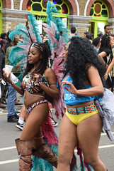 DSC_8409a Notting Hill Caribbean Carnival London Exotic Colourful Costume Girls Dancing Showgirl Performers Aug 27 2018 Stunning Ladies (photographer695) Tags: notting hill caribbean carnival london exotic colourful costume girls dancing showgirl performers aug 27 2018 stunning ladies