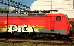 traingraffiti (wojofoto) Tags: treingraffiti trein traingraffiti train pfg amsterdam graffiti streetart nederland netherland holland wojofoto wolfgangjosten