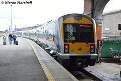 3019+3012 at Connolly, 2/8/18 (hurricanemk1c) Tags: railways railway train trains irish rail irishrail iarnród éireann iarnródéireann 2018 northernirelandrailways nir caf class3000 c3k 1120dublinconnollybelfastcentral 3019 dublin connolly