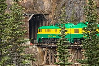 White Pass and Yukon Railway.