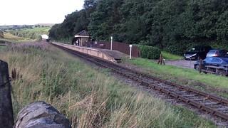 East Lancs Railway Irwell Vale Lancashire 25th August 2018