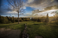 Lighthouse Hill (Crystal Mandolin) Tags: sunset heaven home clouds sky nature river beautiful beauty