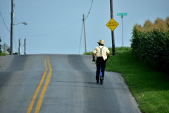 amish man (bluebird87) Tags: amish man scooter nikon d7200