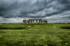 (Simone Vanelli) Tags: uk england stonhenge cloud green stone henge inghilterra salisbury archeologica site landscape