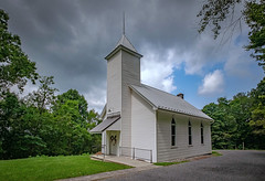 Westpoint Baptist Church (Bob G. Bell) Tags: church westpointbaptistchurch baptistchurch alderson asbury alta summers countrychurch bobbell xe2 fujifilm clouds weather