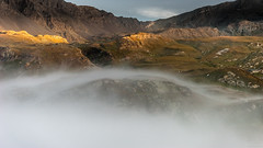 Gran Paradiso 3 (andreasbrink) Tags: italy landscape mountains summer clouds granparadiso mist